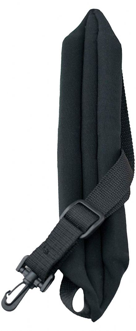 Perris SP5-574 Black Saxophone Strap With Padding, Tri Glide & Plastic Swivel Hook